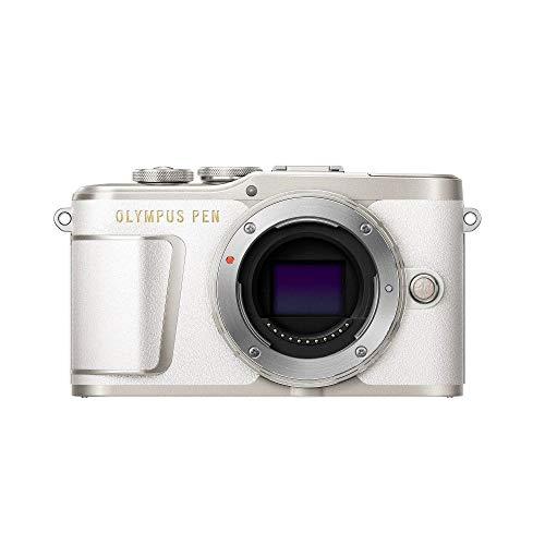 Olympus PEN E-PL9 Micro Four Thirds Systemkamera, 16 Megapixel, Bildstabilisator, elektronischer Sucher, 4k-Video, weiß