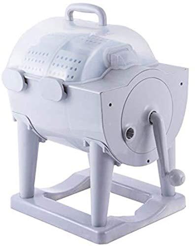 RHSMSS Manual Portátil manivela Lavadora de Ropa no eléctricos Lavadora y Secarropas, encimera Lavadora/Secadora para Camping
