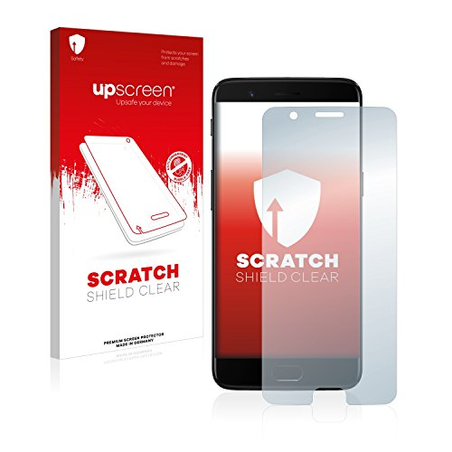 upscreen Schutzfolie kompatibel mit OnePlus 5 – Kristallklar, Kratzschutz, Anti-Fingerprint