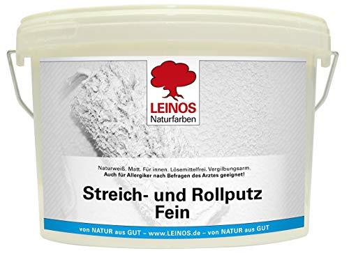 Leinos Streich- und Rollputz, Fein, 2,50 l