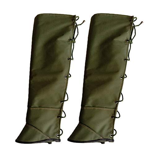 King Gaiter Leggings aus Segeltuch, wasserdicht, wärmend, Schlangenschutz, 1 Paar