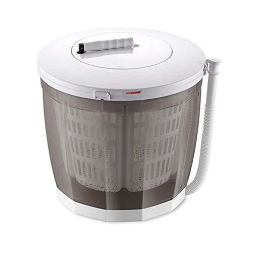 qwertyu Eco Washer, 12 l, lavatrice manuale portatile, manovella, doppio ciclo di lavaggio, design compatto