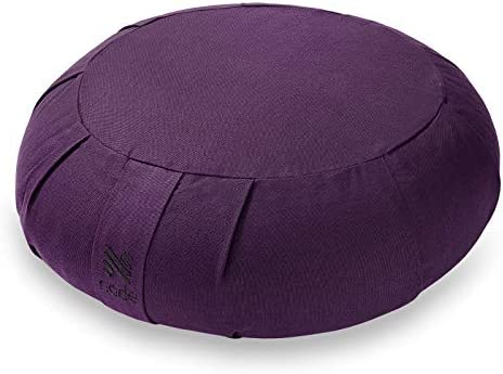 Node Fitness Organic Cotton 15 Round Meditation Cushion Purple product image