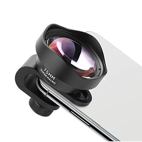 L.J.JZDY Telefoon Lens Mobiele Telefoon Macro Lens Universele Lens SLR Micro Lens Lange afstand Macro 75MM Grote Diafragma Zonder Vignetting