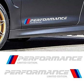 BMW Car Door Sticker Decal for BMW M3 M5 X1 X3 X5 X6 E36 E39 E46 E30 E60 E92 Series  White