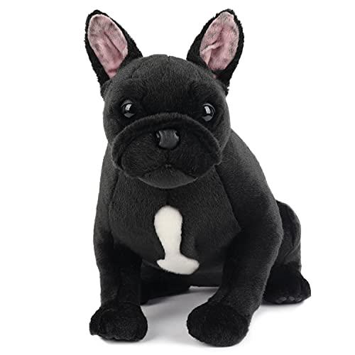 My Dog - French Bulldog, Black - Premium Stuffed Animal Companion Pets - Lifelike & Realistic