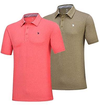 YSENTO Herren Polo-Shirts Casual