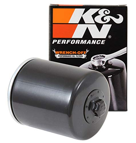 K&N Motorcycle Oil Filter: High Performance, Premium, Designed to be used with Synthetic or Conventional Oils: Fits Select Harely Davidson Motorcycles, KN-170