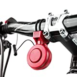 Verdelife Campana de Scooter eléctrico para Bicicleta, Verdelfie Xiaomi Mijia M365 Ninebot Es1 Es2 ES4, USB 120 DB Campana de Scooter eléctrico para Alarma de Bicicleta Loud Horn a Prueba de Agua.