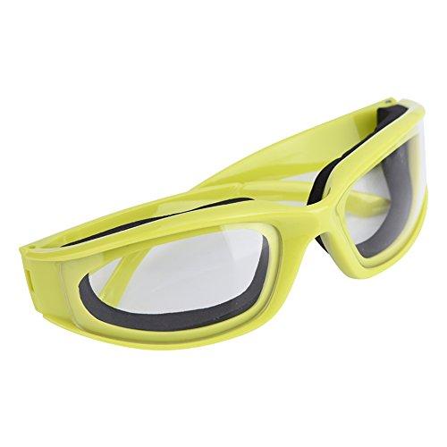 Kitchen Onion Goggles Anti-würzige Zwiebel Ausschnitt Schutzbrillen Anti-splash Schutzgläser Eye Protector Kitchen Gadget Zwiebelbrille Schutzbrille