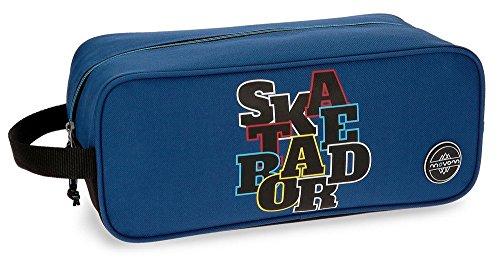 Zapatillero Movom Skateboard Azul