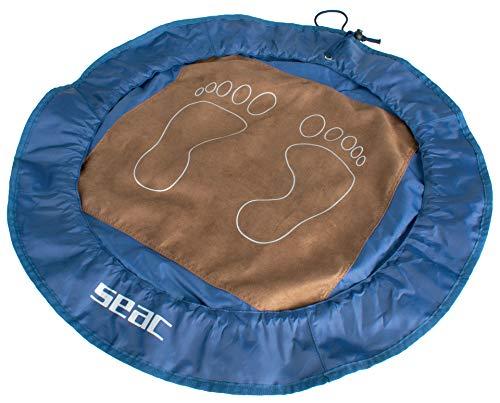 Seac Esterilla plegable para piscina, gimnasio, playa, se converte en una práctica bolsa impermeable