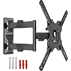 ✅ QUALITY & SAFETY – The EV400 is a great all-round TV wall mount that offers full-motion tilt and swivel making it suitable for a wide variety of rooms. The ideal fit for TV screens 22-50 inches with VESA 100x100mm up to 400x400mm. Compatible with m...