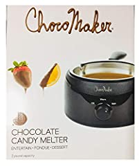 Our candy melter keeps candy making at home simple A candy makers dream. This melter can keep your candy warm 12 hours Stainless steel bowl melting pot has a two pound capacity Pair this with other candy making products, such as wrappers and liners, ...