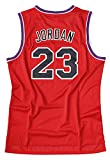 Weltle Men's Basketball Jersey 23# Space Movie Jersey Summer Shirts Red/Blue S-XXXL