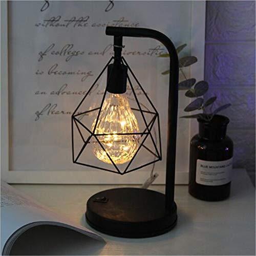 XWZH lámparas de mesa Lámpara de lectura de la lámpara de la lámpara de la lámpara de la lámpara de la lámpara del vintage de la lámpara del vintage para el dormitorio de la cama de la cama de la cama