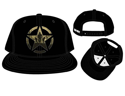 Call of Duty: WWII - Bronze Star Casquette - Noir