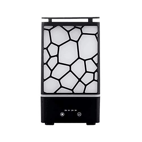 MHOLR Ätherisches Öl Diffusor 200ML Aroma Diffusor Kaltnebelgerät für Home Office Kinderzimmer,Black