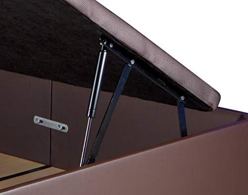 Dreaming Kamahaus Pack de 2 Sistemas de Elevación Completos con Amortiguadores para Canapé Abatible