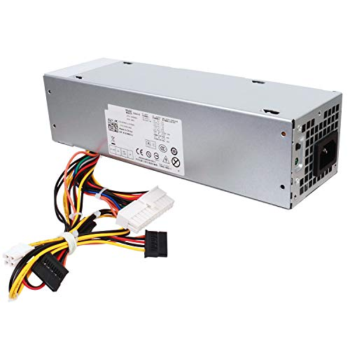 S-Union 240W Power Supply Unit Replacement for Dell OptiPlex 390 790 960 990 3010 9010 Small Form Factor System SFF H240AS-00 H240AS-01 H240ES-00 D240ES-00 AC240AS-00 AC240ES-00 L240AS-00 PH3C2
