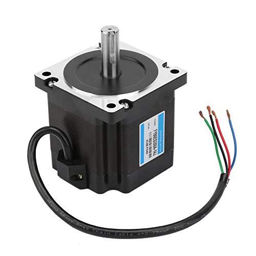 Motore passo-passo Nema 34, 36V/3.5A 4.5NM Coppia 1.8 ° Angolo di passo Controllo industriale Motore passo-passo per attrezzature di imballaggio, Attrezzature di monitoraggio