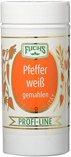 Fuchs Pfeffer weiß gemahlen, 1er Pack (1 x 175 g)