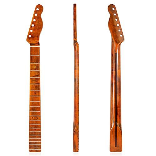 xiaowang Reemplazo de cuello de guitarra eléctrica, 21 trastes de arce para...