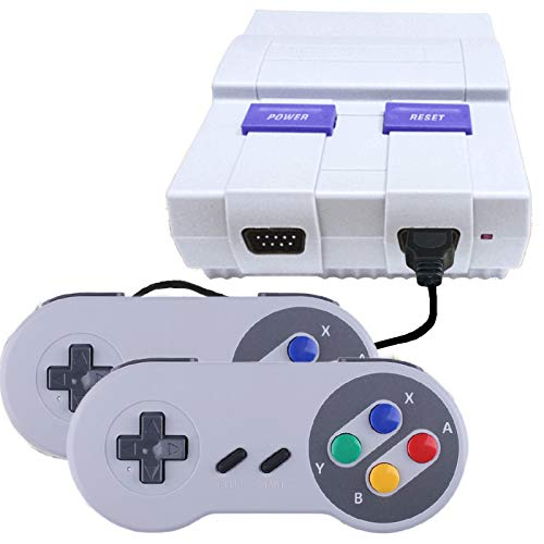 Classic Retro Game Console, 8-bit AV Output Video Game Built-in 400 Games with 2 Classic Controllers