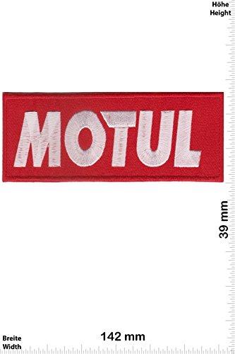Patch - MOTUL - Racing - Motorsport - Motorsport - Ralley - Auto - Rennsport - Motorbike - Motorrad - Patches - Aufnäher Embleme Bügelbild Aufbügler
