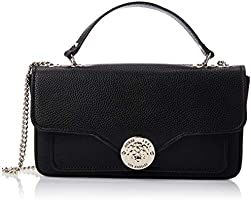 Guess Crossbody Bag For Women, Black - VG774421
