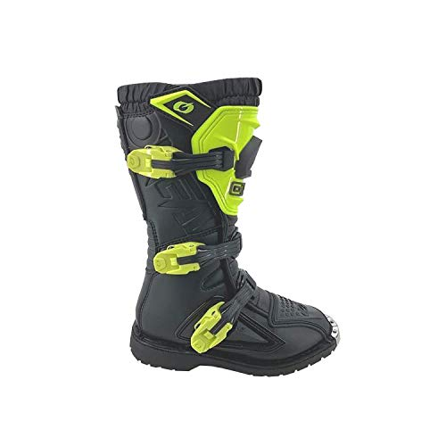 O'Neal Kinder Motocross Stiefel Rider PRO, Neon Gelb, 31, 0336-RB