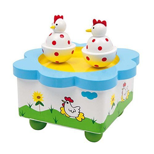 Small Foot Company Musical Box Dancing Hens by Small Foot Company