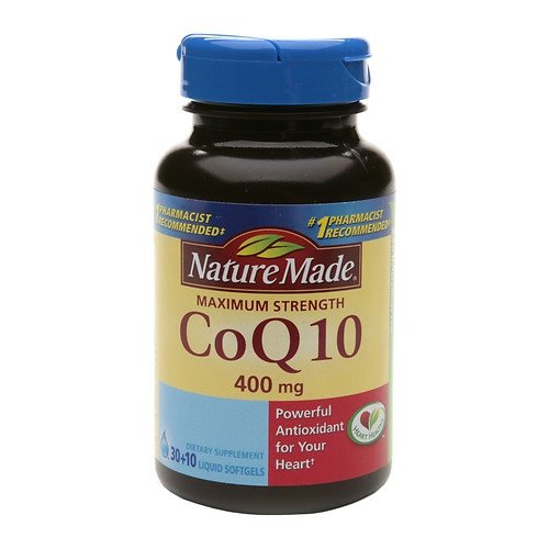 Nature Made Nat Made Co Q10 Max Strength 400Mg 40 Sg, Pack of 3