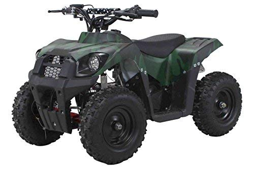 Actionbikes Motors Kinder Miniquad ATV Tiger A19 49 cc - Scheibenbremsen - Luftbereifung - Sportgetriebe - Drosselbar (Camouflage)