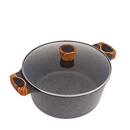 QWC Topf Heißer Suppentopf Auflauf Keramiktopf Gasherd Suppentopf Hochtemperatur-Kochtopf Geeignet für den Heimgebrauch