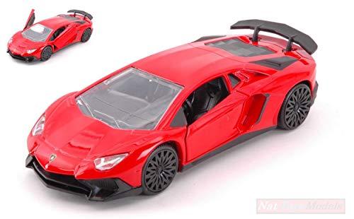 New JADA Toys JADA30109R Lamborghini Aventador SV Red cm 12,5 MODELLINO Die CAST