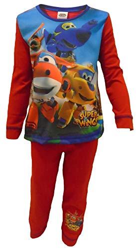 Super Wings - Pijama dos piezas - para niño Rojo rosso 18-24 Meses