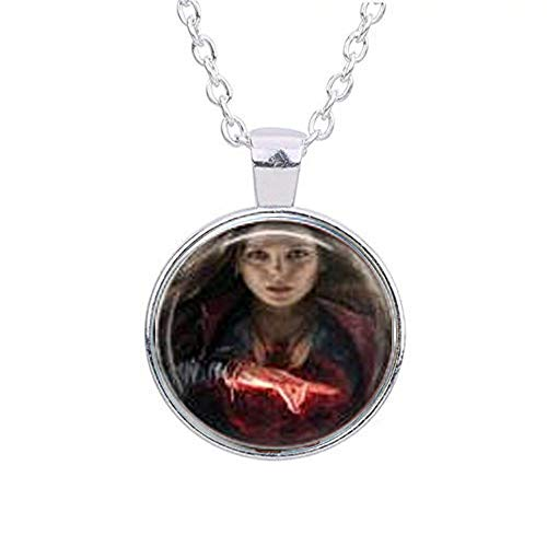 Scarlet Witch & Quicksilver Movie Necklace