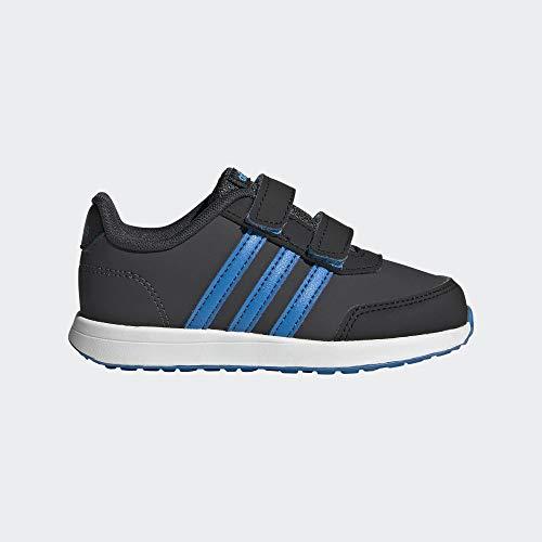 Adidas VS Switch 2 CMF INF, Zapatillas de Trail Running Unisex Adulto, Multicolor (Carbon/Azubri/Negbás 000), 54 2/3 EU