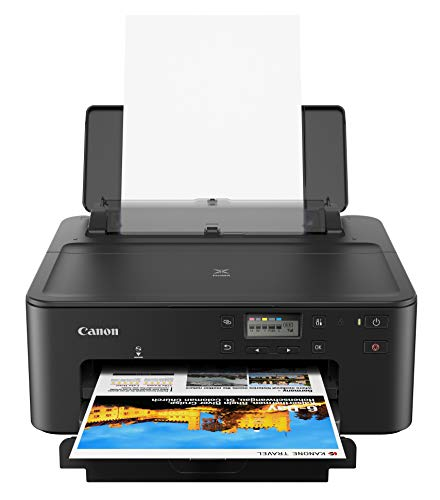 Canon PIXMA TS702 Wireless Single Function Printer | Mobile Printing with AirPrint(R), Google Cloud Print, and Mopria(R) Print Service, Works with Alexa, Black, One Size