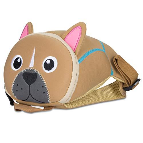 Kinderrucksack für Kleinkinder Kindergarten Rucksack für Kinder Backpack Schultasche Tier-Rucksäcke 2-6 Jahre Wasserfest, Leichtgewichtig, ergonomische Träger und extrem Robust (Hund)