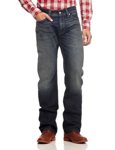 Levi's 506 Pantolon Straight, Blu (Field Blue 0476), 31W x 32L Uomo
