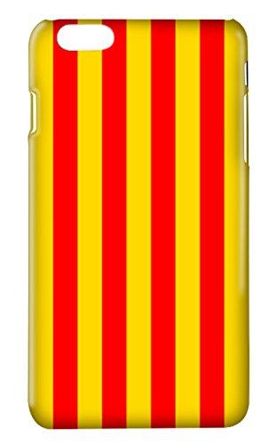 Protector Cristal Templado + Carcasa Bandera Cataluña para Xiaomi Redmi Mi5 Mi 5 plástico rígido