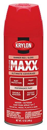 Krylon K09104000 COVERMAXX Spray Paint
