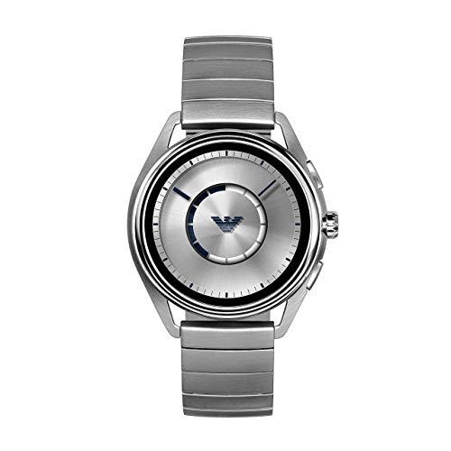 Emporio Armani Reloj digital para hombre con correa de acero inoxidable ART5006 (renovado).