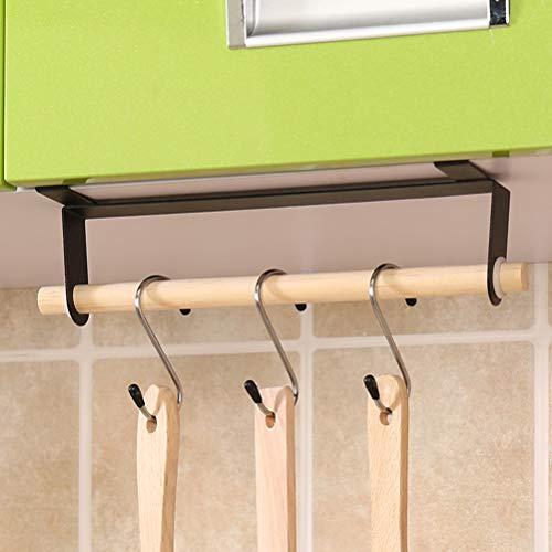 AISHIPING Duster Cloth Multifunción Soporte de Toalla de Papel de Montaje en Pared Barra de Papel higiénico Barra de Toalla Toallero para baño Cocina