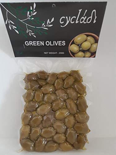 Cycladi Green Olives Vakuum-Pack, 200 g