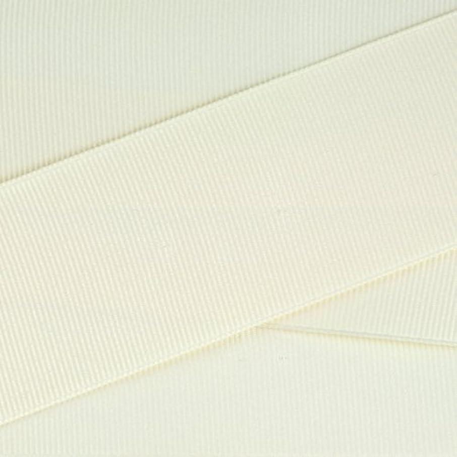 Kel-Toy Polyester Grosgrain Ribbon, 1.5-Inch by 25-Yard, Ivory