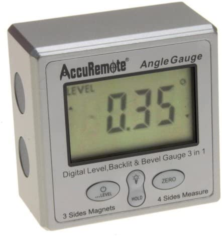 AccuRemote Digital Electronic Magnetic Protract Angle Popular brand Level Over item handling Gage
