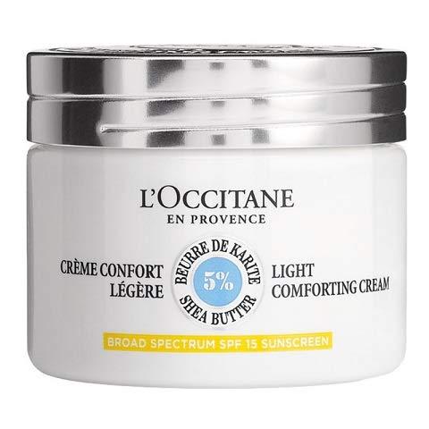 L'Occitane - Crème hydratante, nourrissante et protectrice - Enrichie en 5% de karité - Pour tous les types de peau, même sensibles - 50 ML